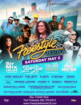 Freestyle Festival In Long Beach 2018