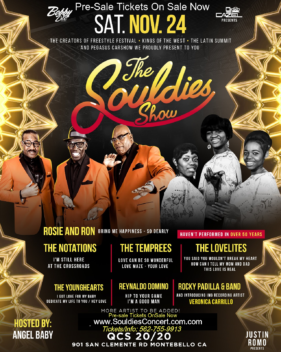 THE SOULDIES SHOW W/ THE TEMPRESS & MORE 2018