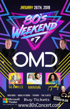80s Weekend #7 Microsoft Theater jan 26 2019
