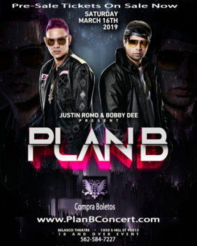 Plan B at Belasco Nightclub Los Angeles 2019
