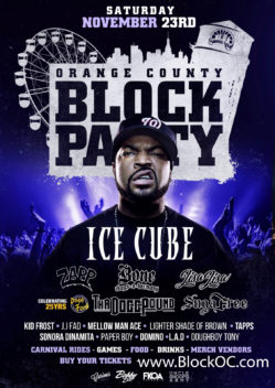 OC Block Party with Ice Cube Nov 23 2019